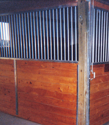 Standard Stall Partitions