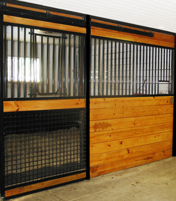 Welded Stall Fronts
