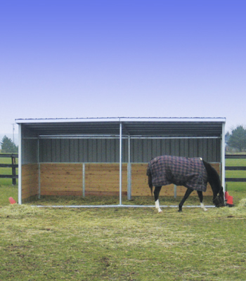 Horse Shelters and Run-In Sheds