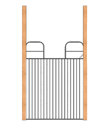 Full Swing Grill Gate