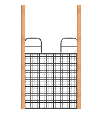 Full Swing Mesh Gate