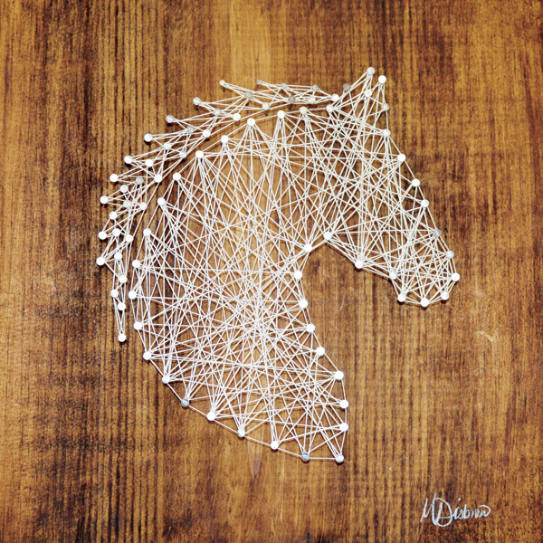 Equine Wood Art