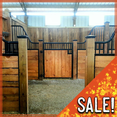 12' Tuscany Horse Stall Front