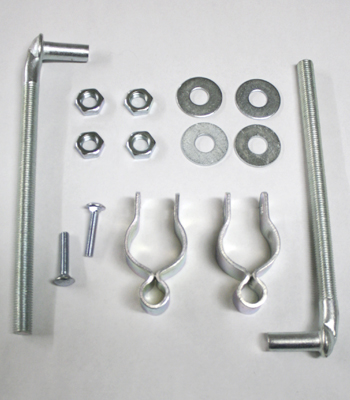 1 3/4 Inch Gate Hinge Hardware Kit
