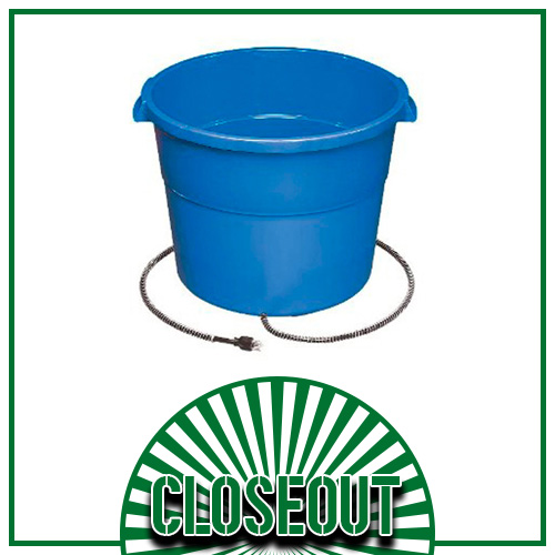 16-Gallon Heated Bucket (1 Left!)
