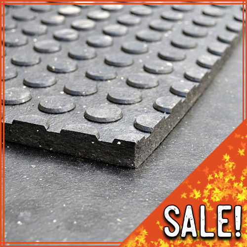 Button Rubber Mats