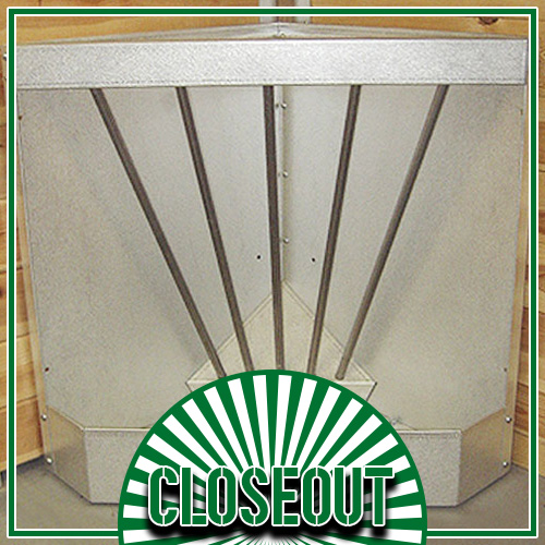 Galvanized Corner Feeder (Sold Out!)