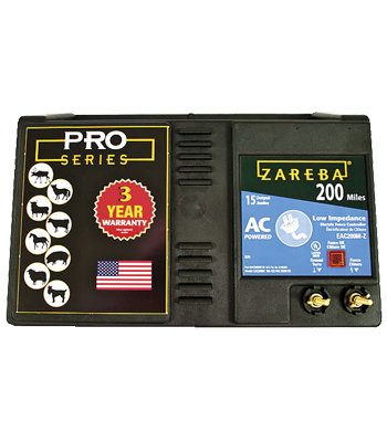 Zareba 200 Mile AC Low Impedance Fence Charger