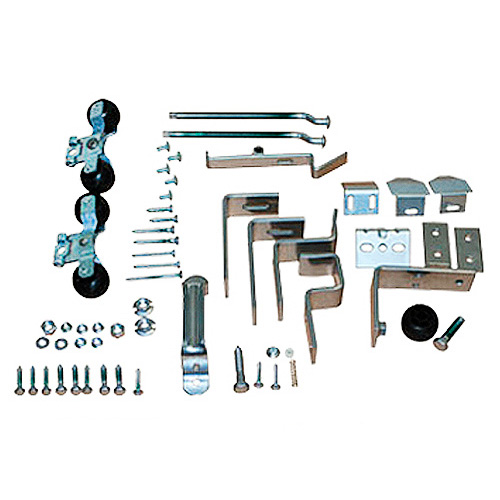 Round Track Door Hardware Kit