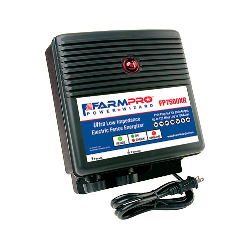 Power Wizard Electric Fence Charger - FP7500XR