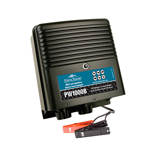 Power Wizard Electric Fence Charger - PW1000B