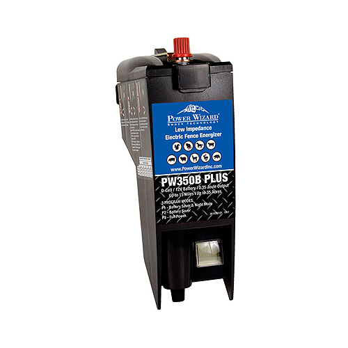 Power Wizard Electric Fence Charger - PW350B+