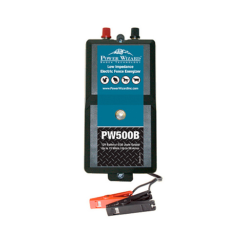Power Wizard Electric Fence Charger - PW500B