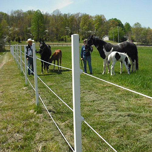 ElectroBraid™ Electric Horse Fence - 600' Roll (BLACK ONLY)