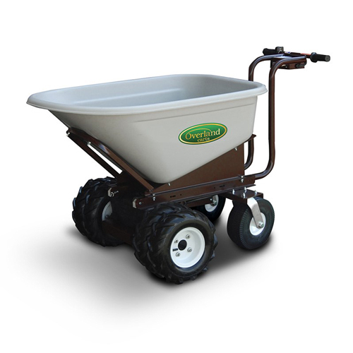 8 Cubic Ft. Electric Wheelbarrow