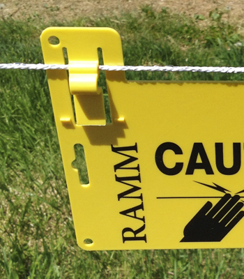 Electric Fence Gallagher Electric Fence Warning Signs