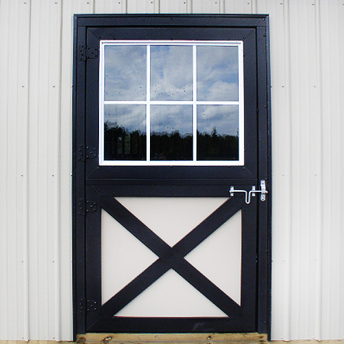 Single Dutch Door - Glass Panel