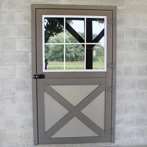 Dutch Door Glass Panel Ramm Horse Fencing Amp Stalls