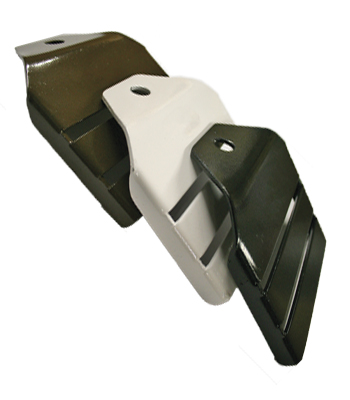 4.25 Inch Horserail 45 Degree End Buckle
