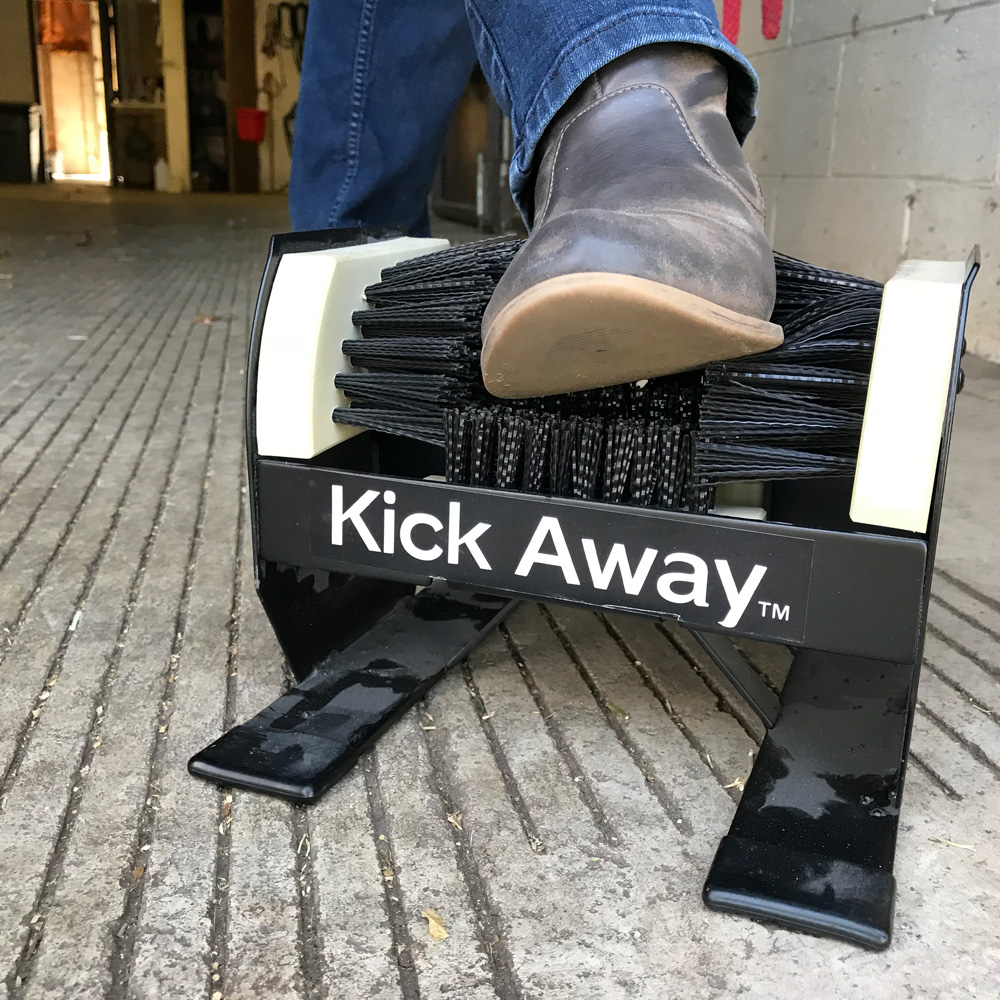 Kick Away Boot Brush