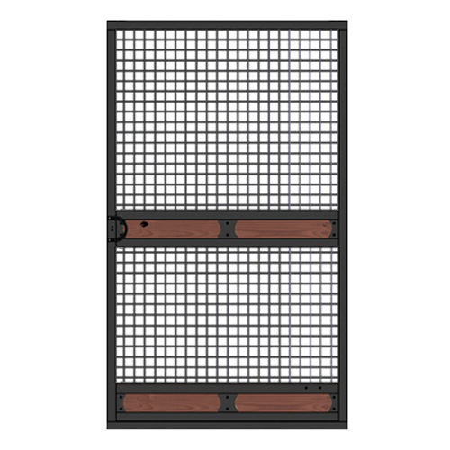 Nobleman Full Mesh Door  sc 1 st  Ramm Fence & Nobleman Full Mesh Door | Metal Equine Stall Doors | Horse Barn Plans
