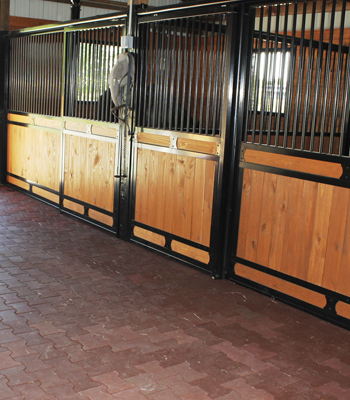Horse stall front grill work quality horse stalls stall barns