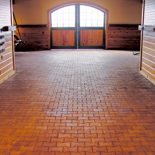 All Weather Floor Mats >> Solid Rubber Pavers | RAMM Horse Fencing & Stalls