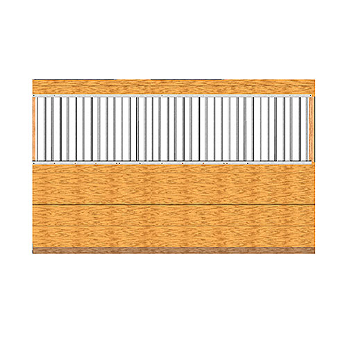 Derby Pro-Line Stall Grilled Partition Kit