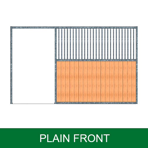 Portable Panel Stall Fronts