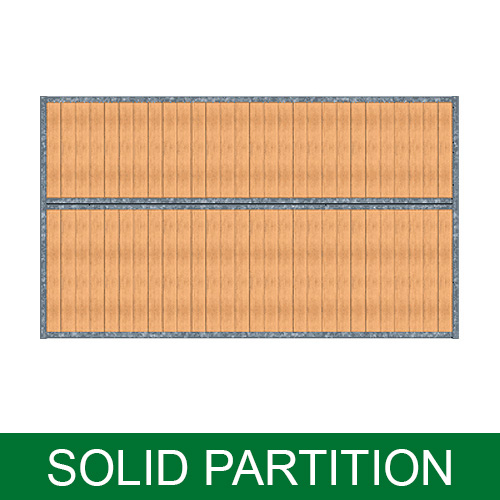 Portable Panel Stall Partitions