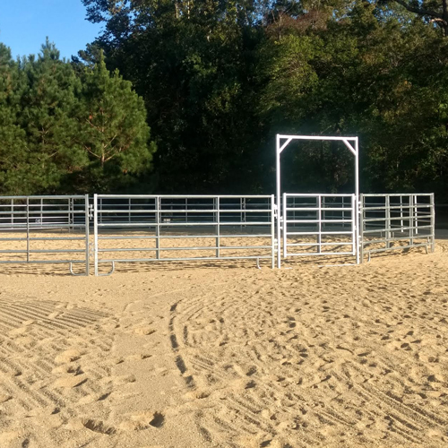 Heavy Duty Round Pen Round Pen For Horses Ramm Horse