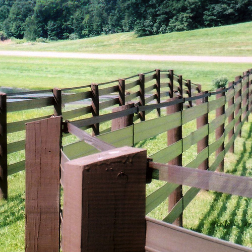 electric fence tape how to fix