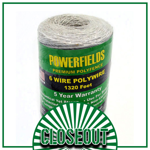 Polywire Electric Wire - 1320' & 660' Rolls