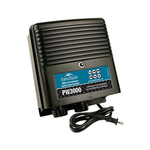 Power Wizard Electric Fence Charger - PW3000