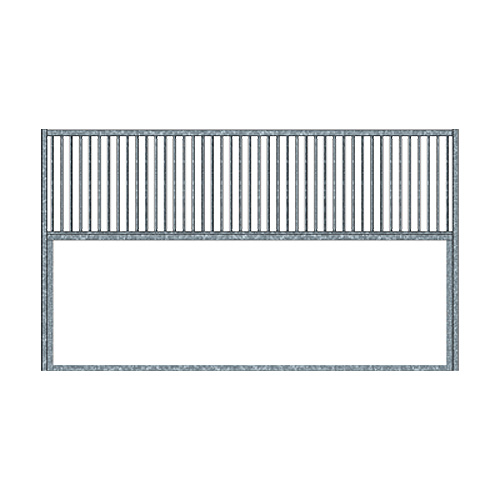 Racetrack Stall Grilled Partition