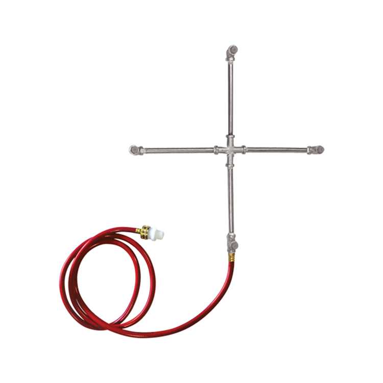 Stainless Steel 4-Way Misting Cross