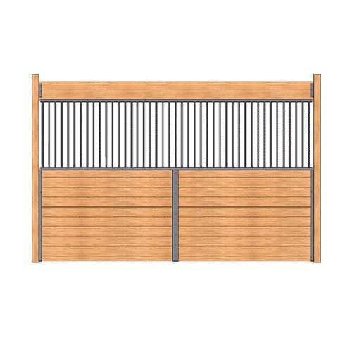 Standard Horse Stall Grilled Partition