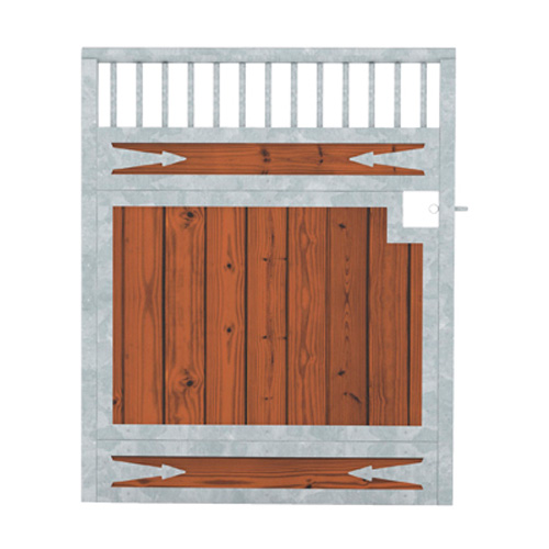 Tuscany Wood Stall Door - Arrows