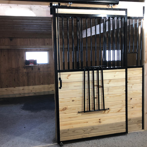 Oxford Horse Stall Front With Feed Opening Amp V Door Ramm