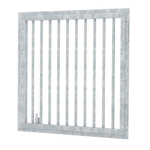 Hinged Window Grills
