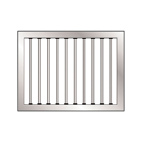Standard Grilled Window Kit