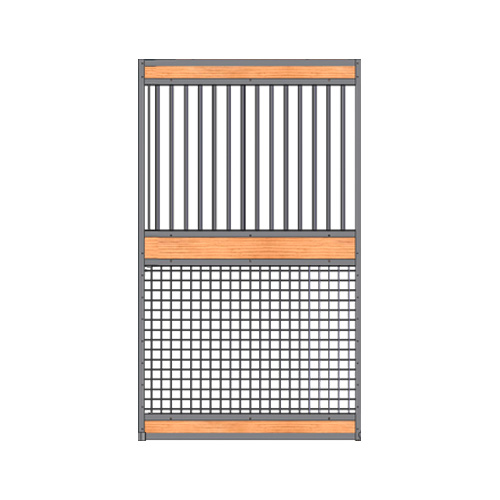 Welded Grilltop / Mesh Bottom Door Kit