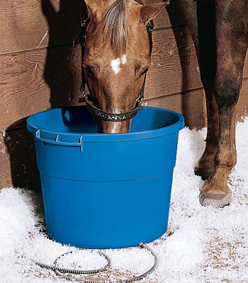 16-Gallon Heated Bucket