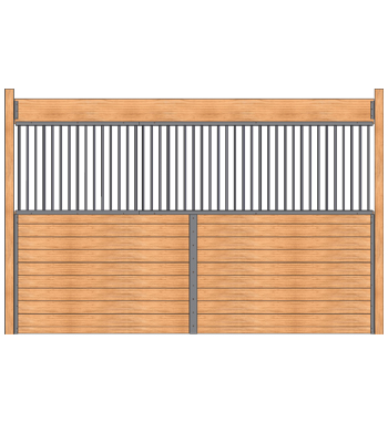 Welded Horse Stall Grilled Partition