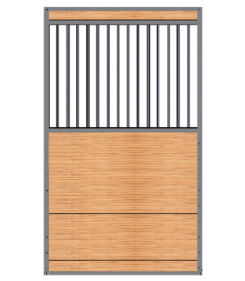 Welded Grill Top Stall Door