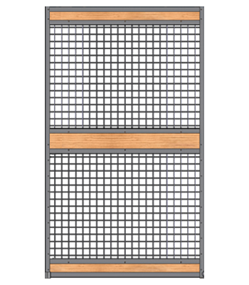Welded Full Mesh Stall Door