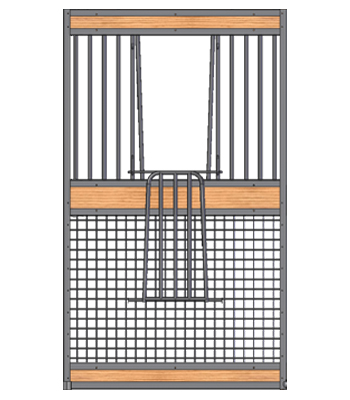 Welded Mesh Stall V-Door