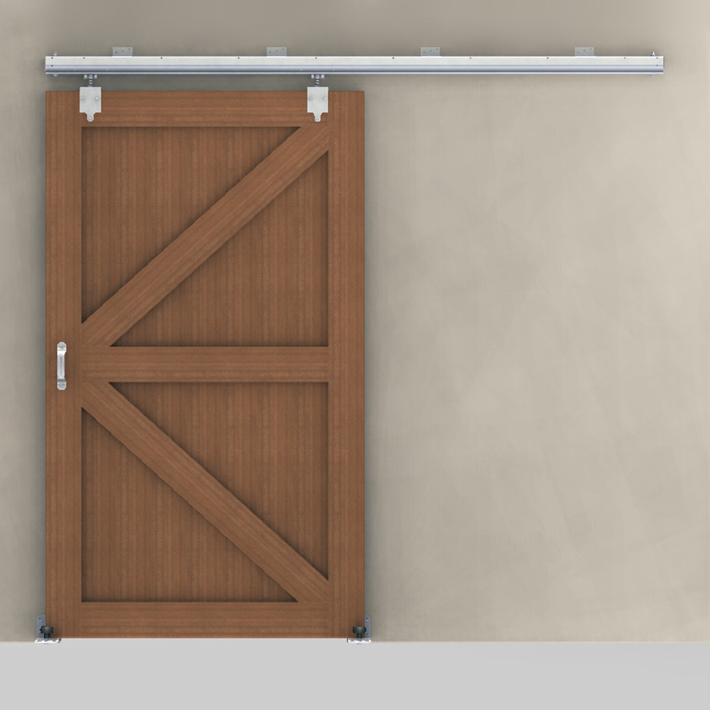 Barn Door 8' Premium Track & Hardware Kit | RAMM Horse ...