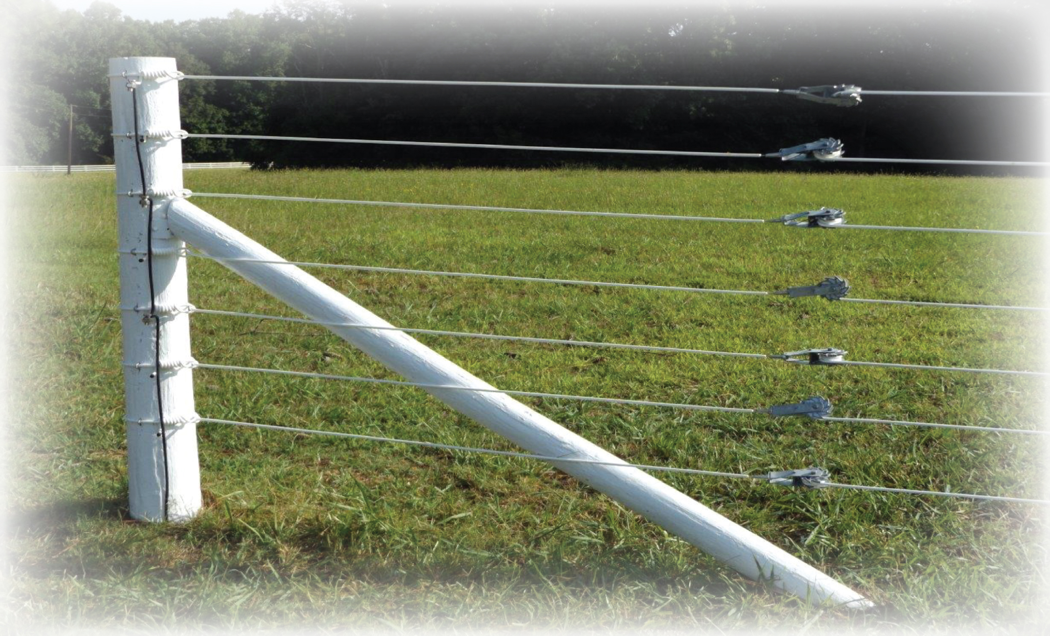 Electric fence accessories end loop for