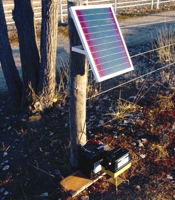 Solar Adaptor Power Kit